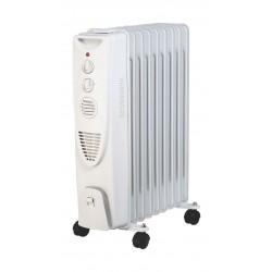مدفأة الزيت من ونسا -٩ شفرات -٢٠٠٠ واط -  (AO-2003) - أبيض