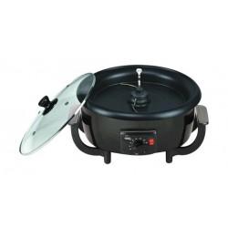 جهاز تحميص القهوة وصانع الفشار ونسا بقوة ٨٠٠ واط وسعة ٢ لتر – أسود (TC7001)