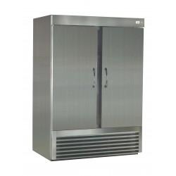 ثلاجة ونسا باب مزدوج سعة ١٣٠٠ لتر حجم ٤٦ قدم - فولاذ مقاوم للصدأ 2DRS