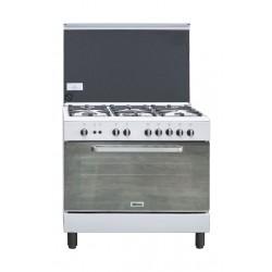طباخ الغاز ونسا ٩٠ × ٦٠ - أبيض (WCI9502124WA)