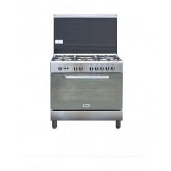 طباخ الغاز ونسا ٩٠ × ٦٠ - ستانلس ستيل (WCI9502124XA)