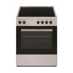 طباخ السيراميك الكهربائي من ونسا ٤ شعلة -٦٠ × ٦٠ سم – ستانليس ستيل (WCT6040041X)