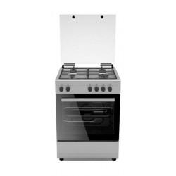 طباخ الغاز القائم من ونسا – ٦٠ x ٦٠ سم – ٤ شعلات (WCT6400111XS)