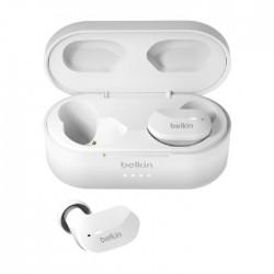 سماعات الأذن اللاسلكية من بلكين  ساوندفورم - أبيض