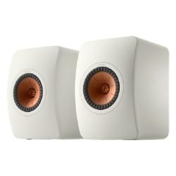 مكبر صوت ميتا بوك شيلف بقوة 100 واط من كيف (LS50) - أبيض