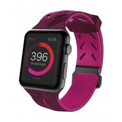 X-Doria Actionband 42mm Apple Watch Strap (459242) - Purple