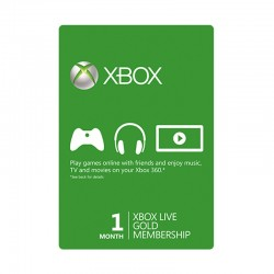 Xbox Live 1-Month Gold Membership Card ( US + EU Account)