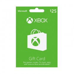 Xbox Gift Card $25 (US Account)