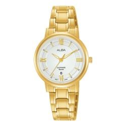 ساعة ألبا النسائية بعرض تناضري كاجوال بحجم 29 ملم (AH7V58X1)