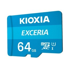 بطاقة الذاكرة ايكسيريا ميكرو اس دي 64 جيجابايت من كيواكسيا
