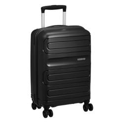 حقيبة صلبة سن سايد بحجم  55 سم من أمريكان توريستر - أسود