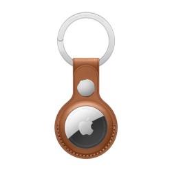 حلقة المفتاح الجلدية لجهاز التتبع اير تاج من آبل - بني