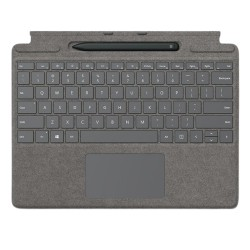 Microsoft Surface Pro X Arabic Keyboard + Pen (25O-00074) - Concrete Grey