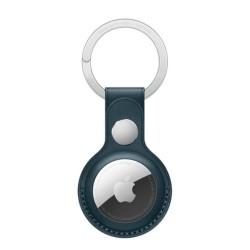 حلقة المفتاح الجلدية لجهاز التتبع اير تاج - أزرق
