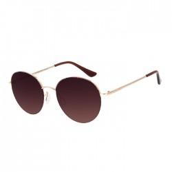 نظارة تشيلي بينز مستديرة -  ذهبي - OCMT2907