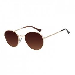 نظارة تشيلي بينز مستديرة -  ذهبي - OCMT2822