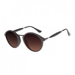 نظارة تشيلي بينز مستديرة -  بني غامق - OCCL1677