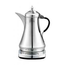 صانعة القهوة العربية الكهربائية يتوق سعة ٨٧٥ مل - فضي