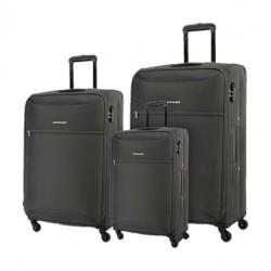 مجموعة حقائب كاميليانت زاكا بأحجام (٥٩ + ٦٩ + ٨٠ سم) - رمادي