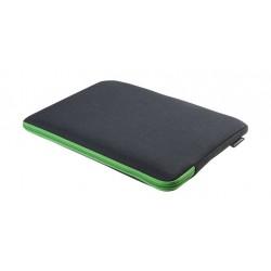 Gecko Universal Zipper Sleeve 17'' Laptop Cover - Dark Grey