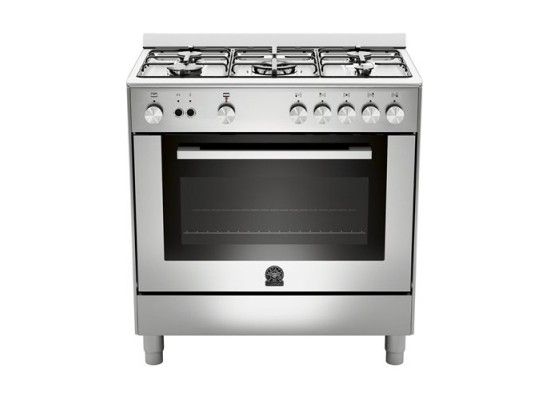 Lagermania 80x50 cm 5-Burner Floor Standing Gas Cooker (TU85C31DX)