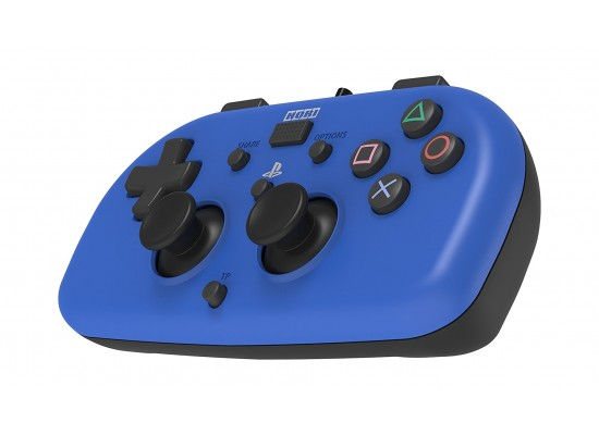 Wired MINI Gamepad PlayStation 4 Controller - Blue