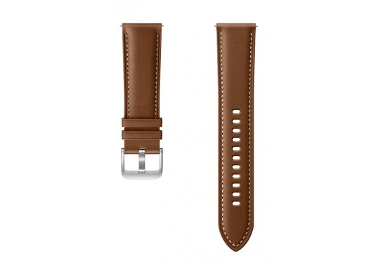 Samsung Galaxy Watch3 Stitch 40mm Leather Strap (ET-SLR85SAEGWW) - Brown