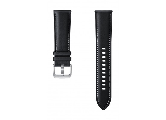 Samsung Galaxy Watch3 Stitch 45mm Leather Strap (ET-SLR84LBEGWW) - Black
