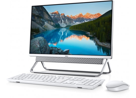 """Dell Inspiron 5400 Intel Core i5 11th Gen. 8GB RAM 1TB HDD + 256GB SSD 23.8"""" FHD Infinity Touch All-In-One Desktop - Silver"""