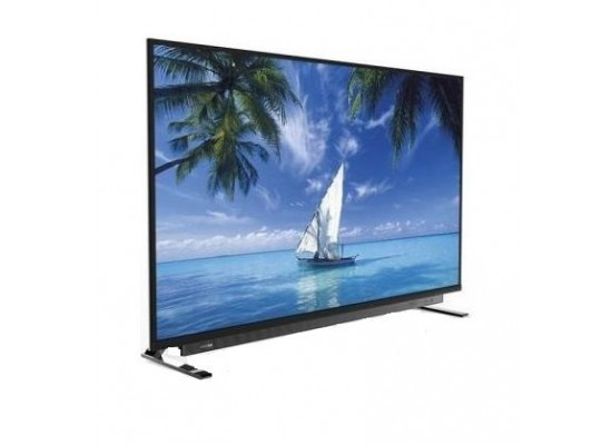 Toshiba 55 inch Ultra HD 4k-D-LED Android Smart TV (55U7750VE) - Right Side View