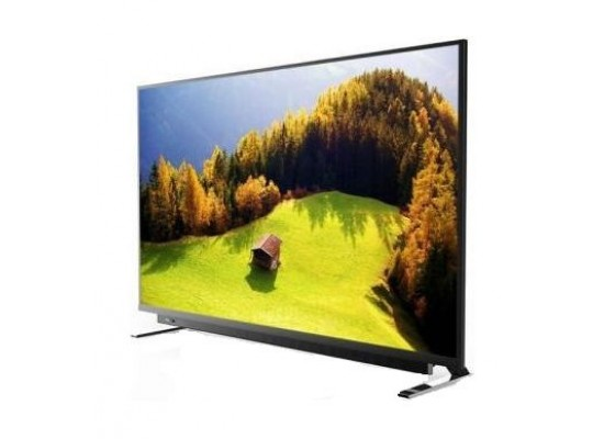 Toshiba 55 inch Ultra HD 4k-D-LED Android Smart TV (55U7750VE) - Left Side View