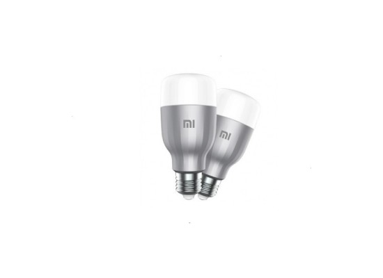 XiaoMi Yeelight LED Smart Light Bulb RGBW – (2 Pack)