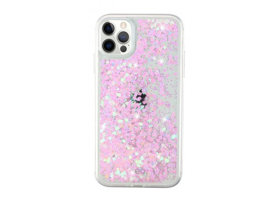 EQ Quicksand Case for iPhone 12/12 Pro - Pink