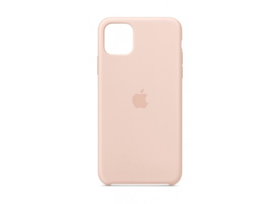 Apple iPhone 11 Pro Max Silicon Case - Pink Sand
