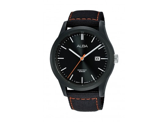 Alba 42mm Gent's Analog Nylon Sports Watch - (AS9K21X1)