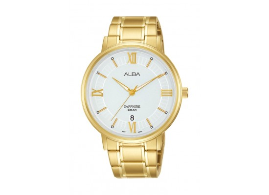 Alba 41mm Gent's Metal Analog Casual Watch - AS9L20X1