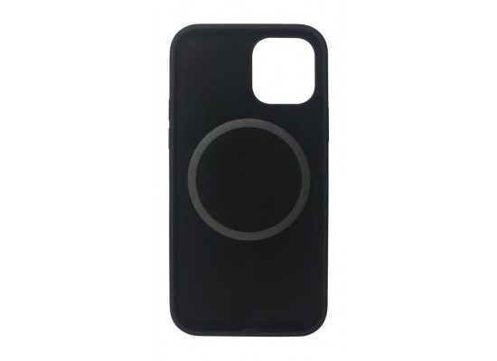 EQ Magsafe Silicone Case for iPhone 12/12 Pro - Black