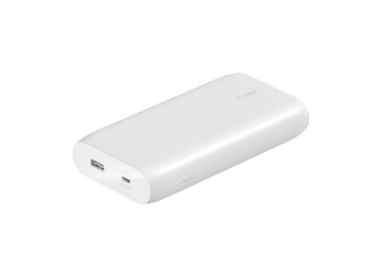 Belkin Boost Charge 20,000 mAh USB-C PD White Power Bank in Kuwait | Buy Online – Xcite