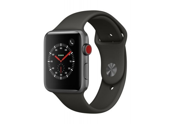 Apple Watch Series 4 44mm, Space Gray Aluminum Case with Black Sport Band