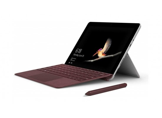 Microsoft Surface Go Pentium Gold 4415Y 8GB RAM 128GB SSD Touchscreen Convertible Laptop - Silver 2