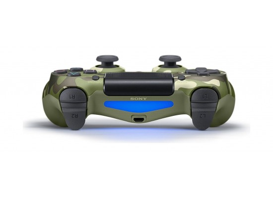 Sony PS4 Controller DualShock 4 Wireless – Green Camouflage  L-R bottons