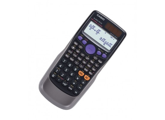 Casio 252 Functions Scientific Calculator (Fx-85es Plus) - Black