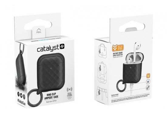 Catalyst Ring Clip Case Airpods - Black