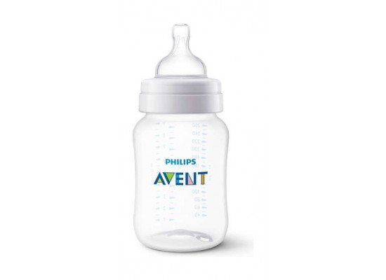 Philips Avent Classic Plus 260ml Baby Bottle - Clear