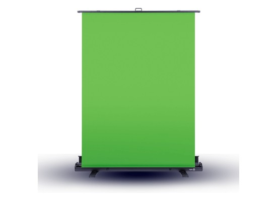 Elgato Collapsible Chroma Key Panel Green Screen front view