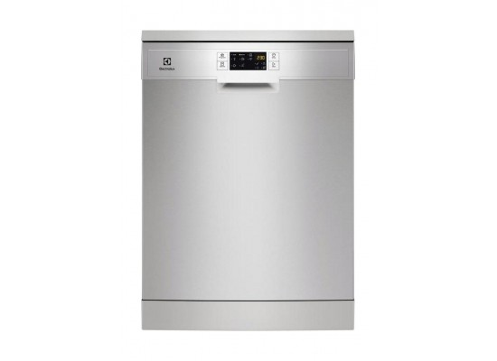 Electrolux 6 Program Free-standing Dishwasher (ESF5513LOX) - Stainless Steel