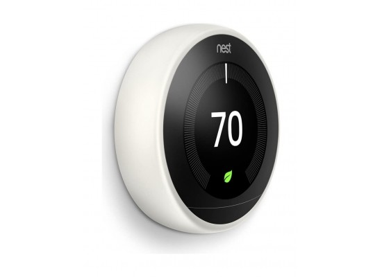 Google Nest Learning Thermostat 3rd Generation Smart Thermostat - White