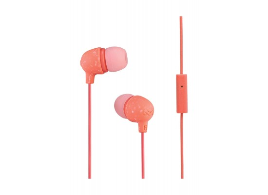House of Marley Little Bird In-Ear Headphones - Peach