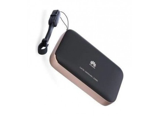 HUAWEI 4G LTE Wireless 2 Pro Router Black & Rose Gold - Left View