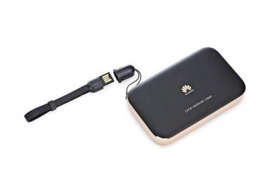 HUAWEI 4G LTE Wireless 2 Pro Router Black & Rose Gold - Top View